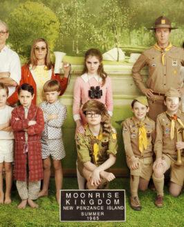 """""""Kochankowie z księżyca. Moonrise Kingdom"""": niesamowita przygoda w gwiazdorskiej obsadzie"""