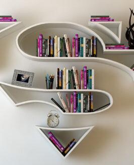 Półki na książki dla prawdziwych superbohaterów