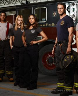 "PREMIERA SERIALU ""CHICAGO FIRE"" W STOPKLATCE TV."